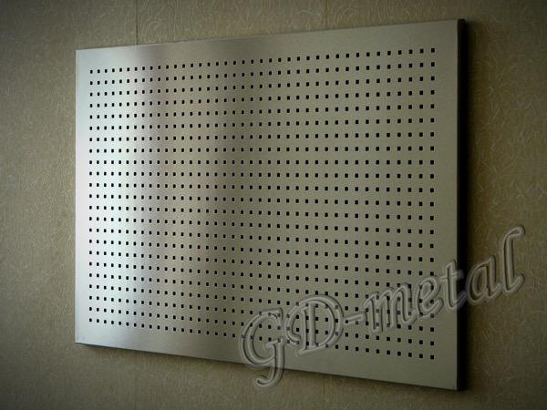 Алюминиевый экран для батареи